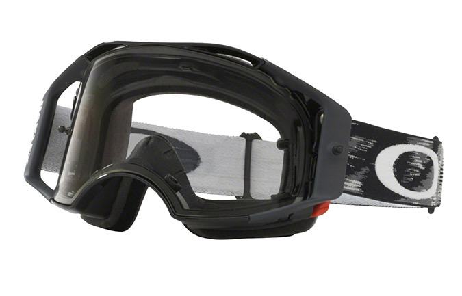 MASCHERA OAKLEY AIRBRAKE MX JET BLACK SPEED CLEAR LENS