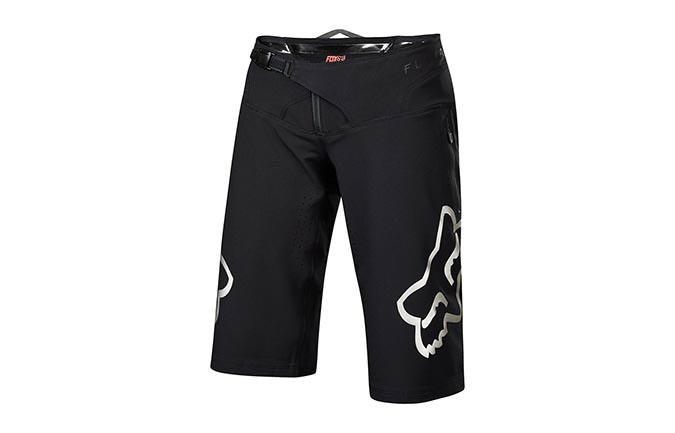 FOX WOMEN FLEXAIR SHORT BLACK/CHROME