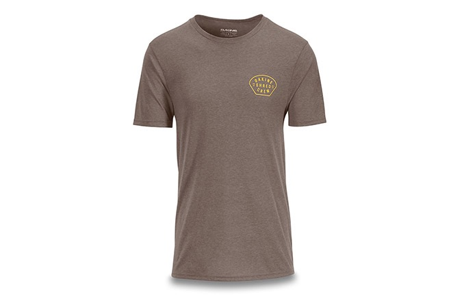 DAKINE SHORT SLEEVE SHRED CREW TECH T-SHIRT GRIT