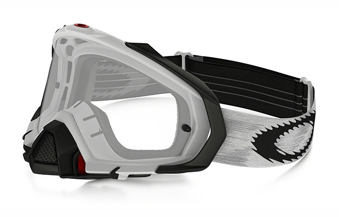 MASCHERA OAKLEY MAYHEM PRO MX MATTE WHITE SPEED