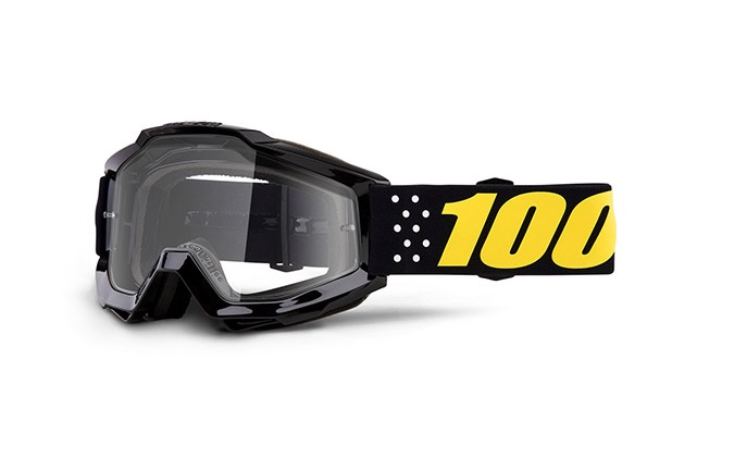 100% KIDS ACCURI PISTOL GOGGLE - CLEAR LENS 2019