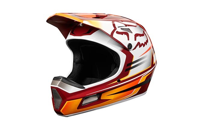 FOX RAMPAGE COMP RENO HELMET OPEN RED