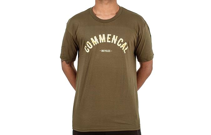 T-SHIRT COLLEGE MILITARY GREEN
