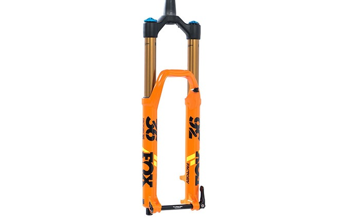 "FOX 36 FLOAT FACTORY KASHIMA GRIP 2 170MM 29"" 2020 ORANGE"