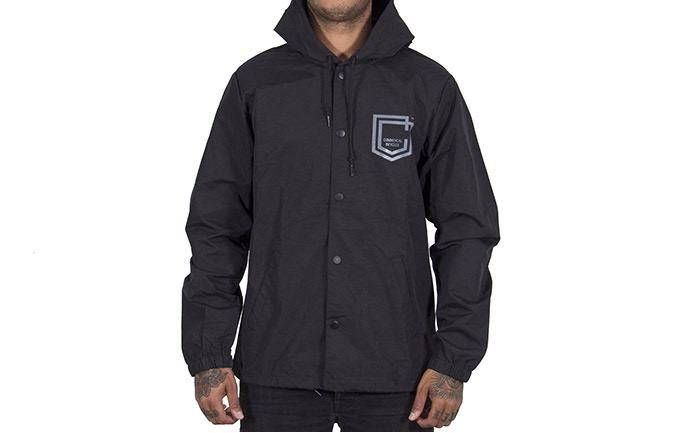 COMMENCAL COACH SHIELD WINDBREAKER BLACK 2019