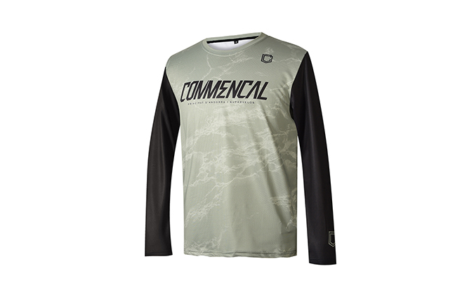 MAGLIA BAMBINO COMMENCAL AMAURY HERITAGE GREEN 2020