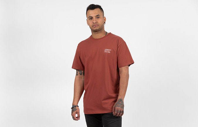 T-SHIRT COMMENCAL BICYCLE GRENAT RED