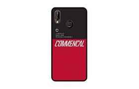 COVER COMMENCAL HUAWEI P20 P20 LITE RED