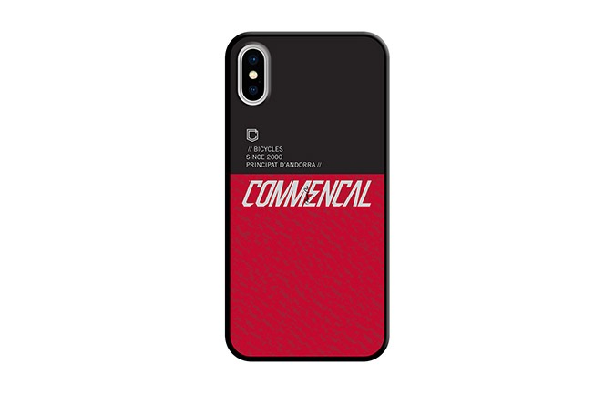 COVER COMMENCAL IPHONE X-XS RED 2019