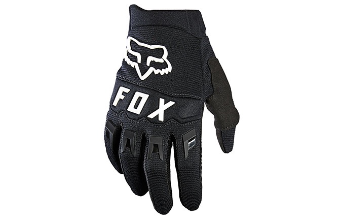 GUANTI FOX KID DIRTPAW BLACK/WHITE