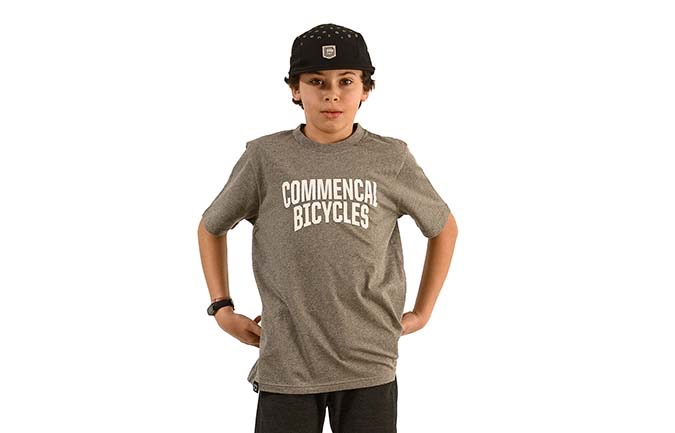 COMMENCAL KIDS T-SHIRT GREY 2020