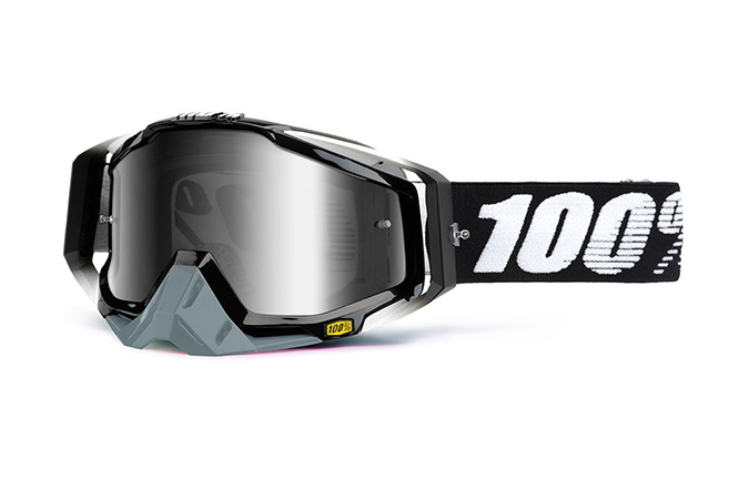 100% GOGGLE RACECRAFT ABYSS BLACK 2020