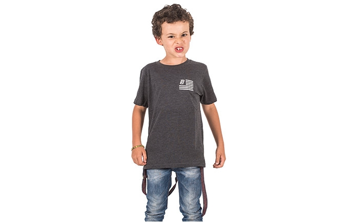 T-SHIRT EAGLE CARBONE BAMBINI