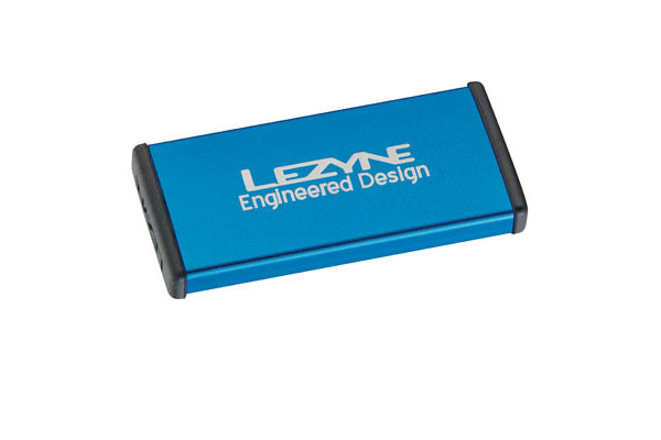 LEZYNE TIRE REPAIR KIT - ALU CASE, 6 PATCHES BLUE