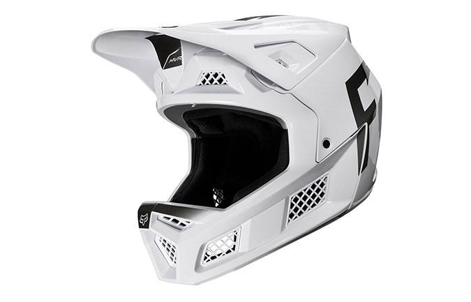 CASCO FOX RAMPAGE PRO CARBON WURD WHITE