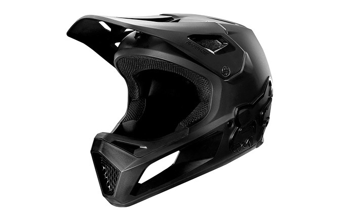 CASCO FOX RAMPAGE NERO/NERO