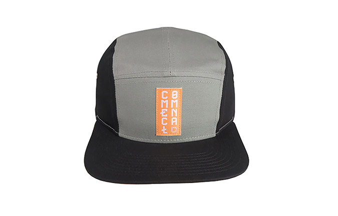 COMMENCAL 5 PANEL CAP BLACK GREY
