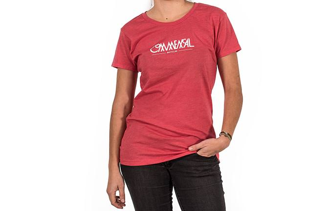 T-SHIRT DONNA BUBBLE RED 2018