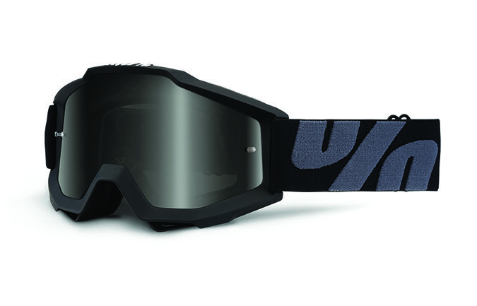 100% ACCURI UTV/ATV SAND SUPERSTITION GOGGLE - DARK SMOKE LENS 2020