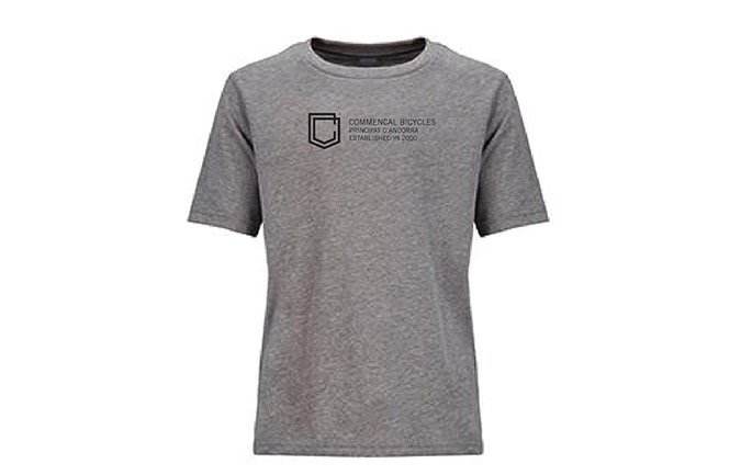 T-SHIRT COMMENCAL BAMBINI GREY 2019