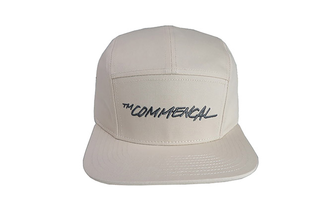 COMMENCAL 5 PANEL CAP OFF-WHITE