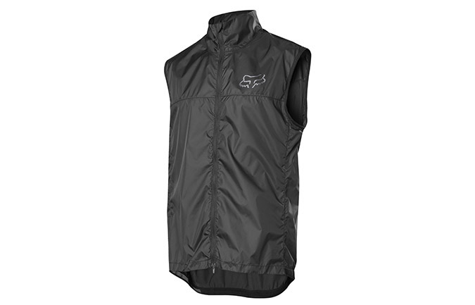 FOX DEFEND SLEEVELESS WIND JACKET BLACK